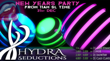 HyDrA New Years Eve Party 2019