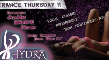 ~HyDrA's~ Trance Thursday