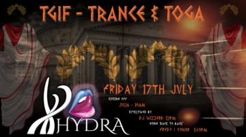 TGIF – Trance & Toga